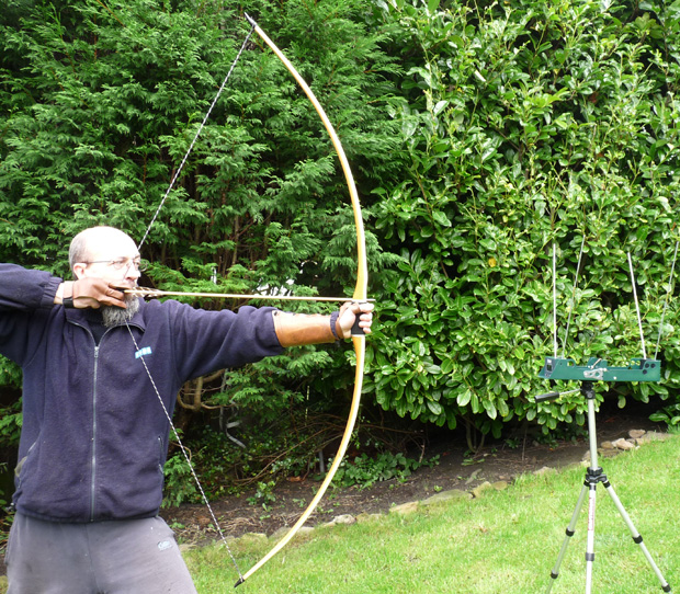 Speed Testing Measuring The Arrow Speed Of Bows And Longbows Using A